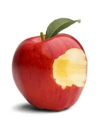 Det halvätna äpplet