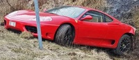 Kraschad Ferrari