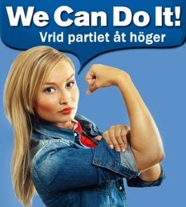 Ebba drar åt höger