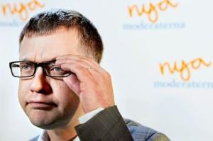 Moderaternas partisekreterare Kent Persson