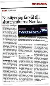 Nordea - skattesmitare