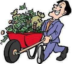 En rullebör pengar