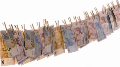 Pengar på tork