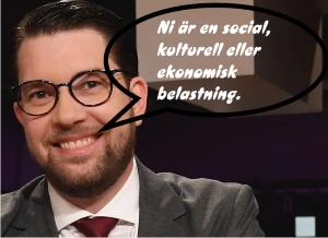 Jimme Åkesson talar klarspråk