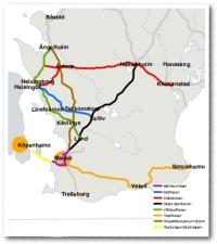 Skånska järnvägslinjer