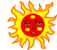 En strålande sol