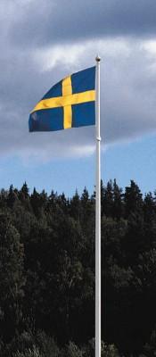 Den svenska flaggan