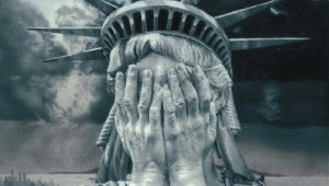 Statue of Liberty ashamed