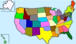 >USA karta